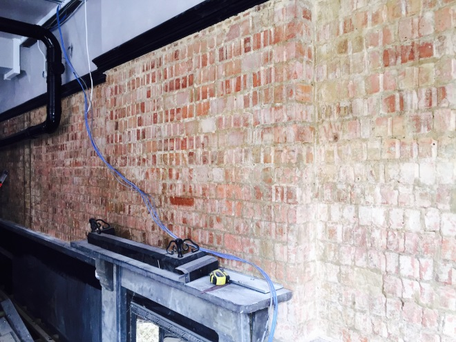Brickwork revealed