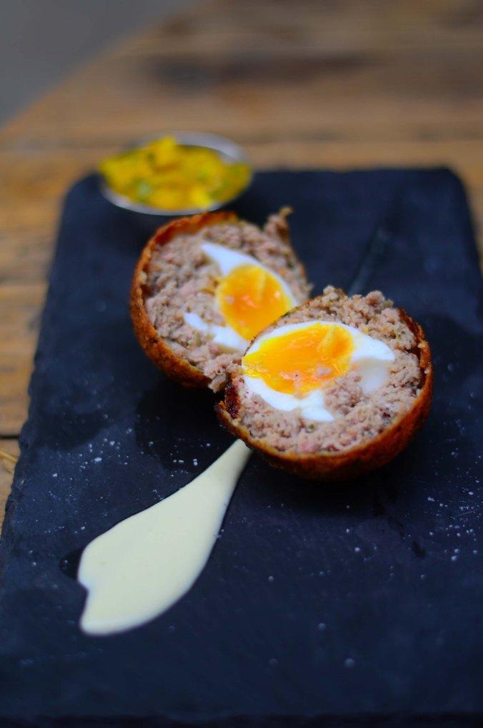 Gipsy Queen Pork Shoulder & Fennel Scotch Egg