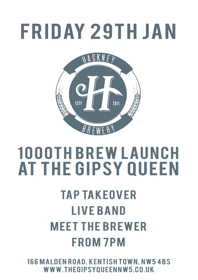 Hackney Brewery beer launch